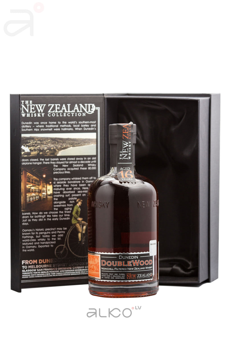 New Zeland whisky THE 16 ans DoubleWood of 40% 0,5L