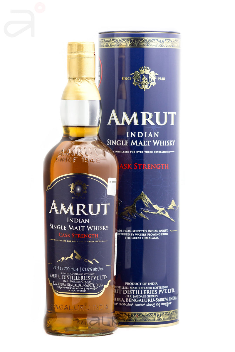 Amrut Cask Strength Of 61.8% 0.7L