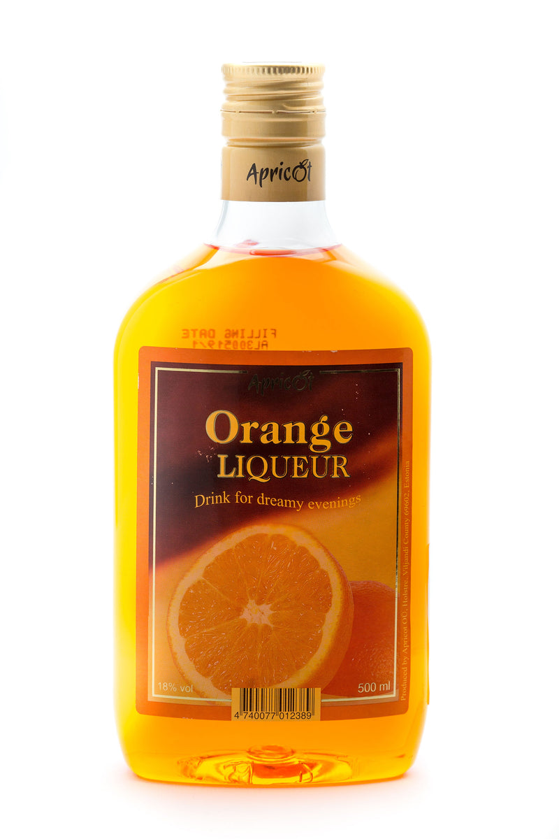 Liķieris Orange 18% 0.5L