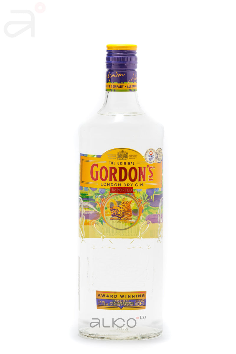 Gordon's London Dry Gin 37,5% 0,7L