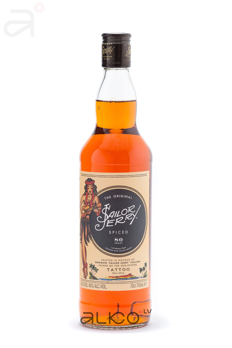 Sailor Jerry Spiced Rum 40% 0.7L