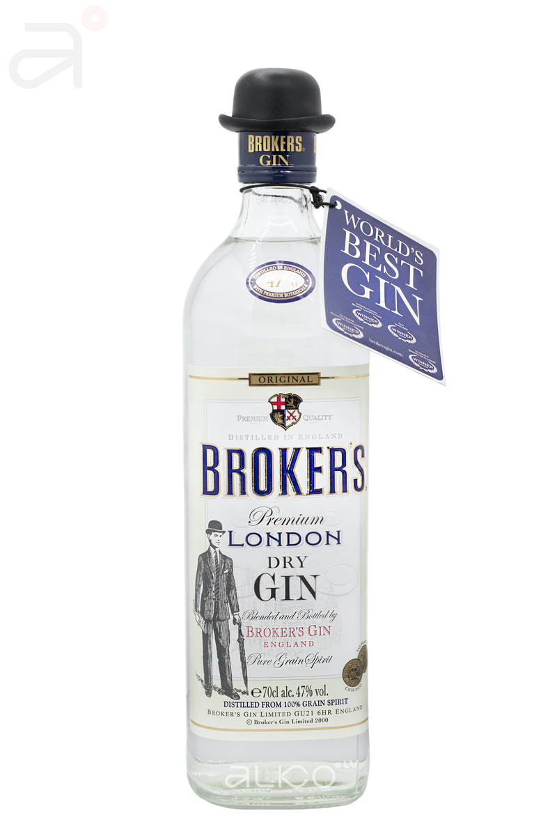 Broker's London Dry Gin 47% 0.7L