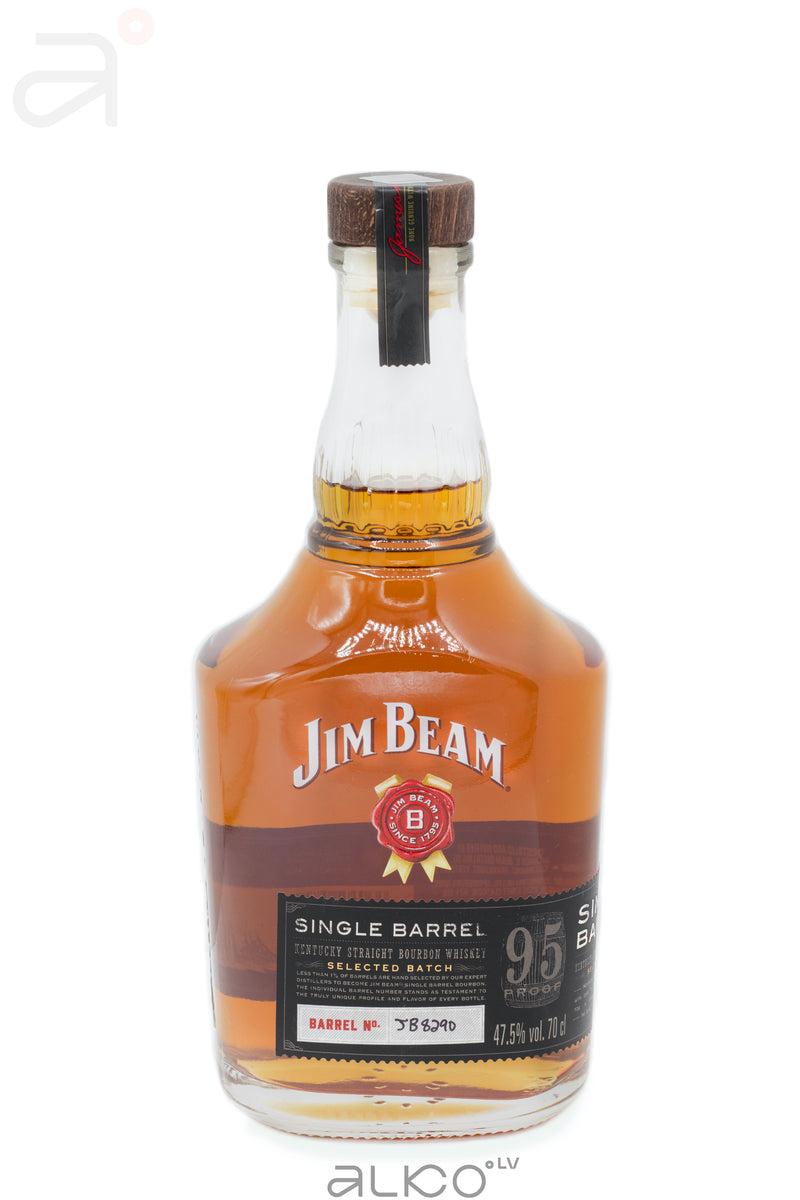 Jim Beam Single Barrel 47.5% 0.7L