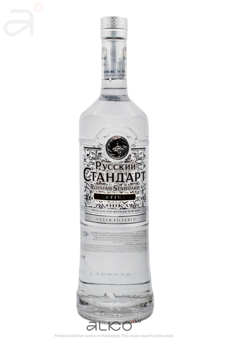 Russian Standard Vodka Platinum 40% 1L