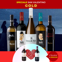 Load image into Gallery viewer, SPECIALE SAN VALENTINO - GOLD PACK - Claudio Quarta Vignaiolo Shop
