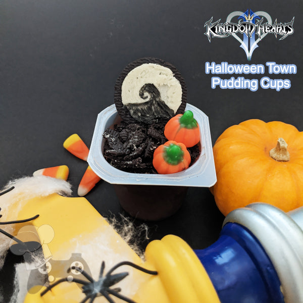 KH Halloween Town Pudding Cups
