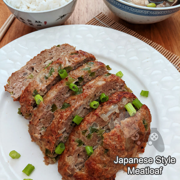 Japanese Style Meatloaf