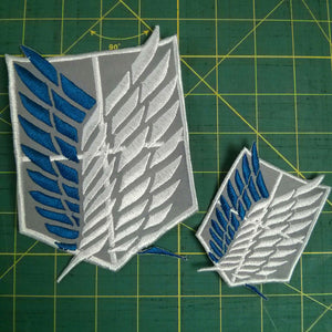 Attack on Titan Regimen Embroidery Files