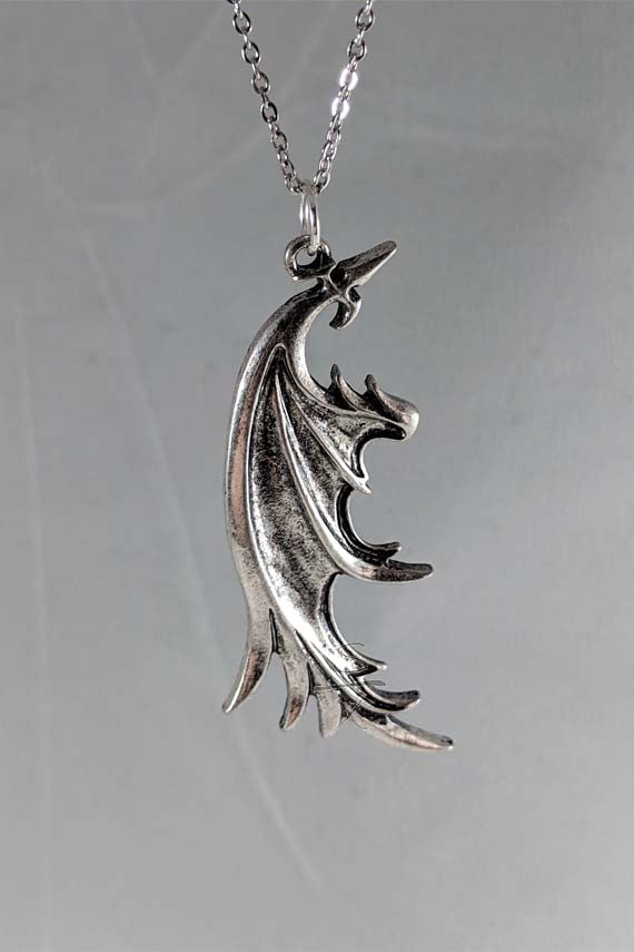 Buster Wing Pendant Necklace
