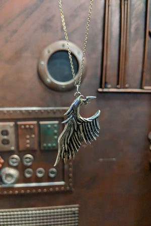 One Winged Angel Pendant Necklace
