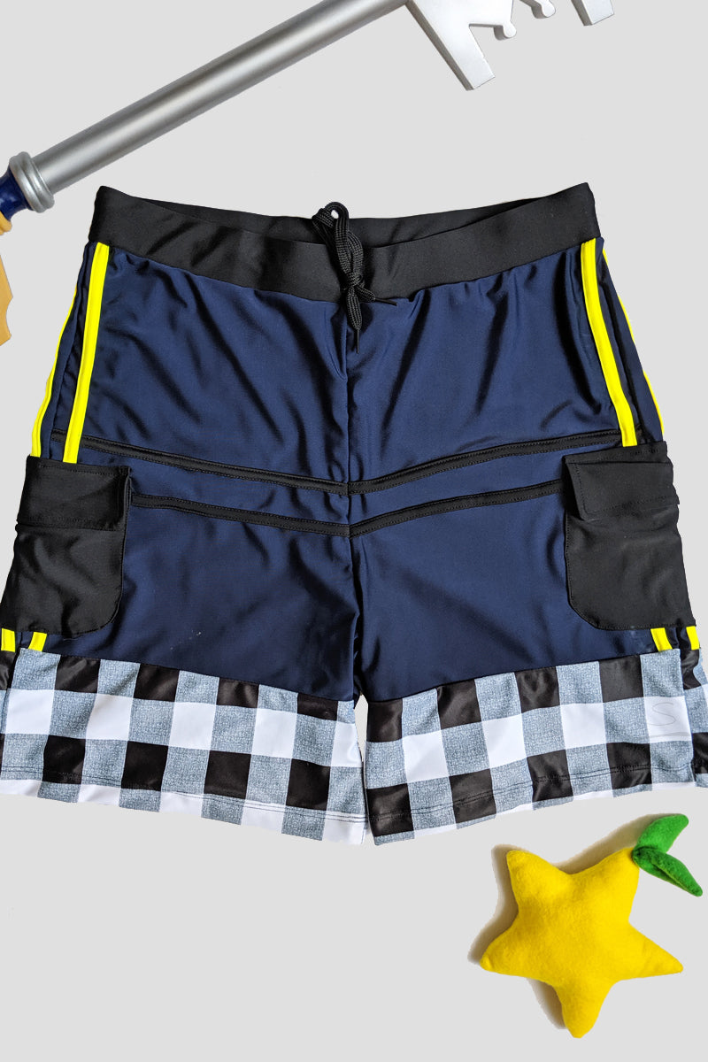 Keyblade Master Swimsuit Cosplay Shorts
