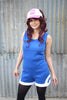 Blue Trainer Romper