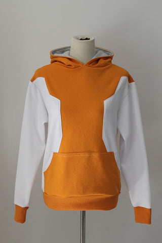 Trainer Orange Hoodie