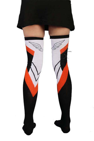 Medic Thigh High Cosplay Gamer Socks