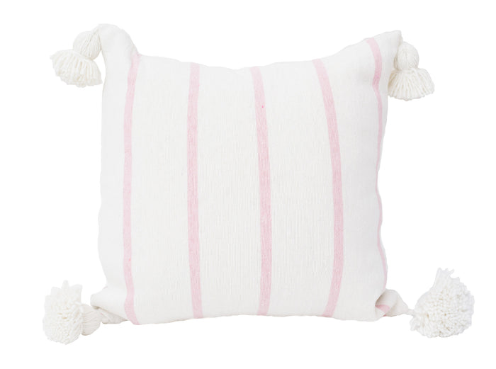Candy Stripe Moroccan Cushion