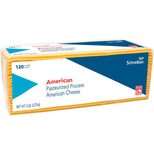 CHEESE-AMERICAN, SLICED...120 CT. (5 LB.)