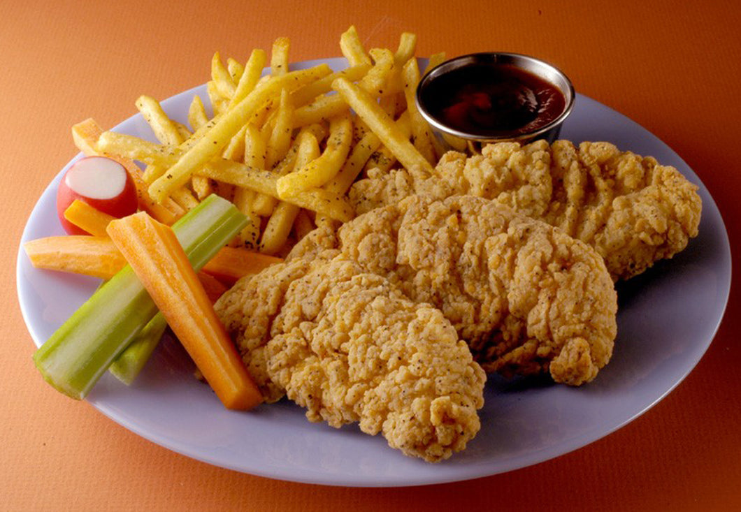 CHICKEN-TENDERS, SOUTHERN STYLE...RAW (2-5 LB.)