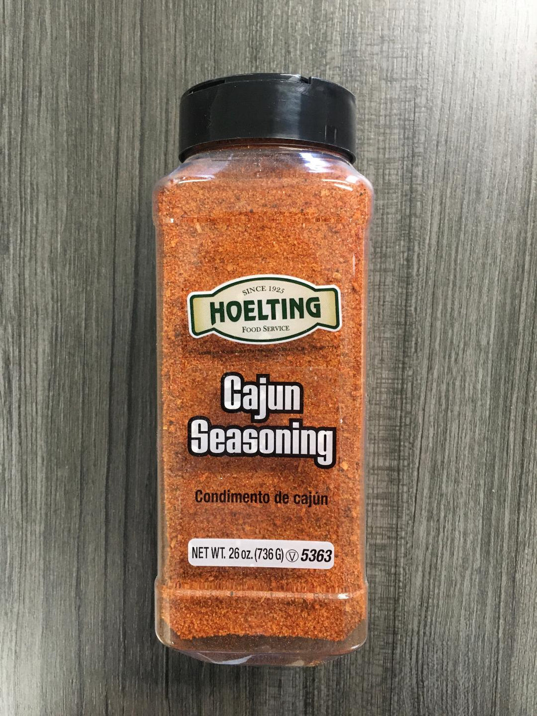 SPICE-CAJUN SEASONING (26 OZ.)