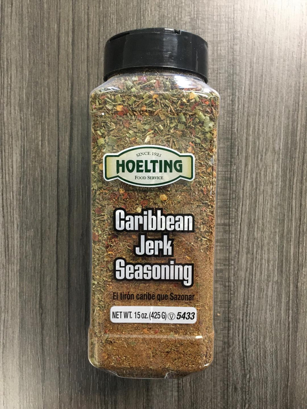 SPICE-CARIBBEAN JERK SEASONING (15 OZ.)