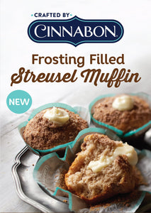 MUFFINS-STREUSEL, FROSTING FILLED (4 CT.)