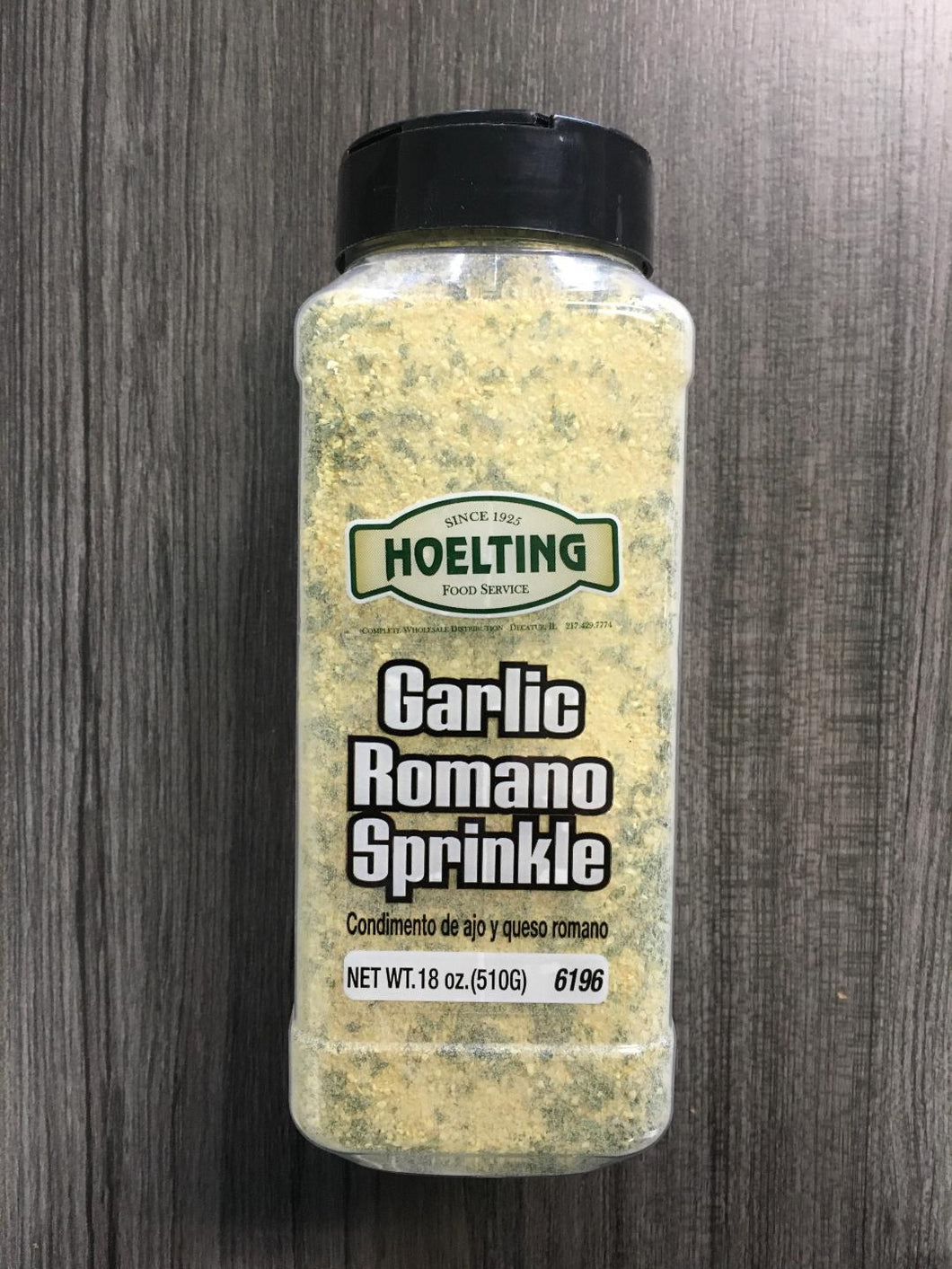 SPICE-GARLIC ROMANO SPRINKLE (18 OZ.)