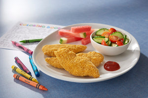 CHICKEN-TENDERS, BREADED...GLUTEN FREE (2-5 LB.)