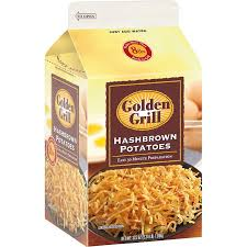 HASHBROWNS-DEHYDRATED, GOLDEN GRILL (37.5 OZ.)