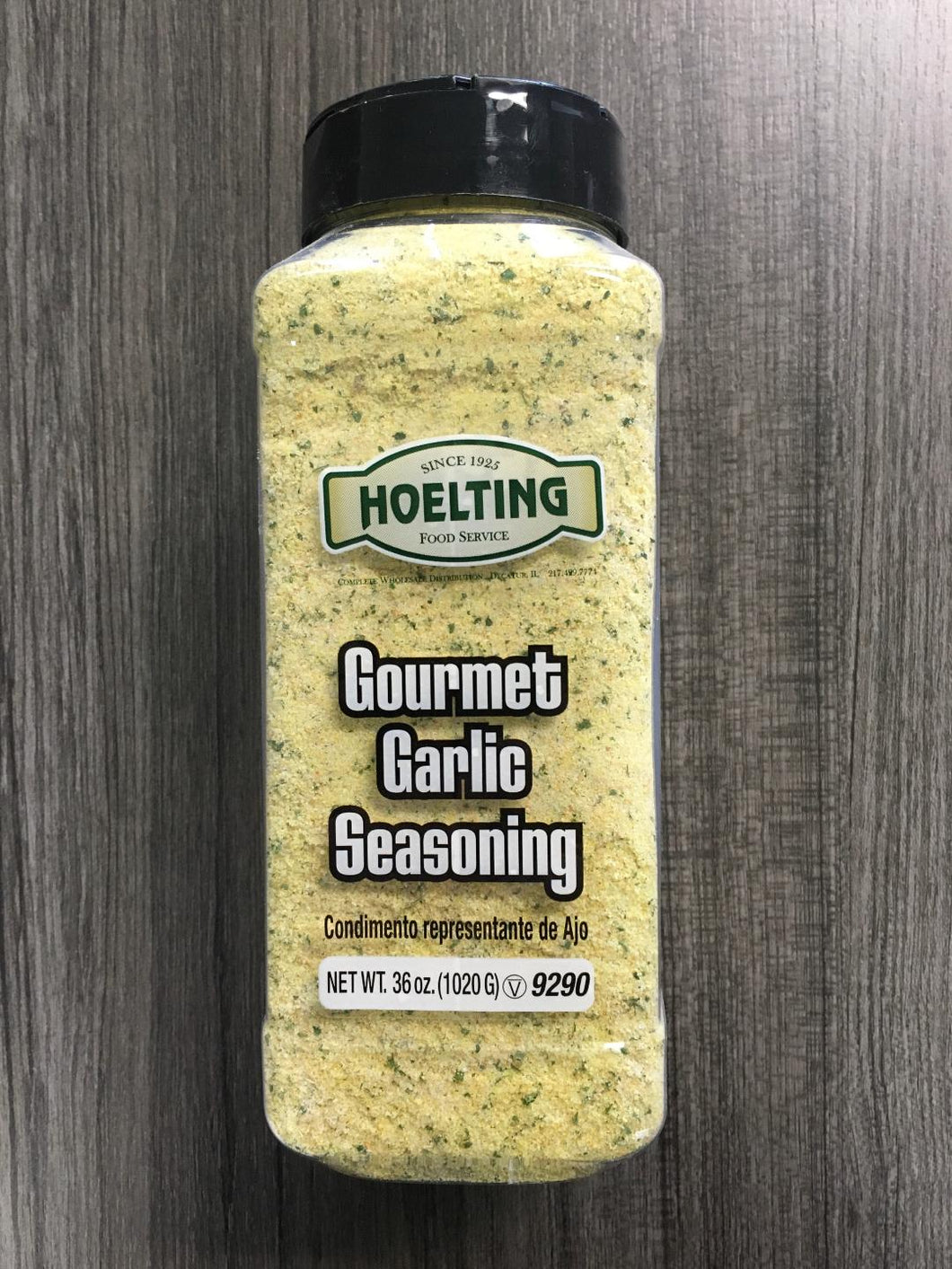 SPICE-GOURMET GARLIC SEASONING (36 OZ.)