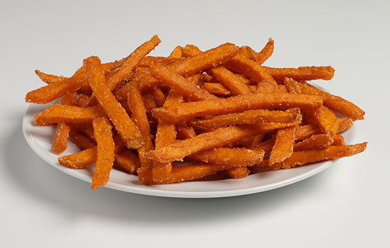 FRIES-SWEET POTATO, TRIM CUT (5-3 LB.)