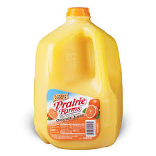 JUICE-ORANGE (1 GALLON)