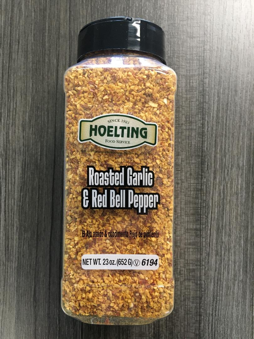 SPICE-ROASTED GARLIC & RED BELL PEPPER (23 OZ.)