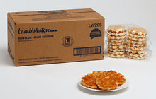 Load image into Gallery viewer, HASHBROWNS-PATTIES, WAFFLE SHAPED...SEASONED (16-6 CT.)