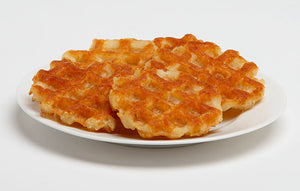 HASHBROWNS-PATTIES, WAFFLE SHAPED...SEASONED (16-6 CT.)