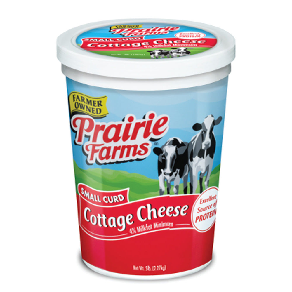COTTAGE CHEESE-SMALL CURD (5 LB.)