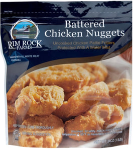 CHICKEN NUGGETS-BATTERED, RAW (1.5 LB.)