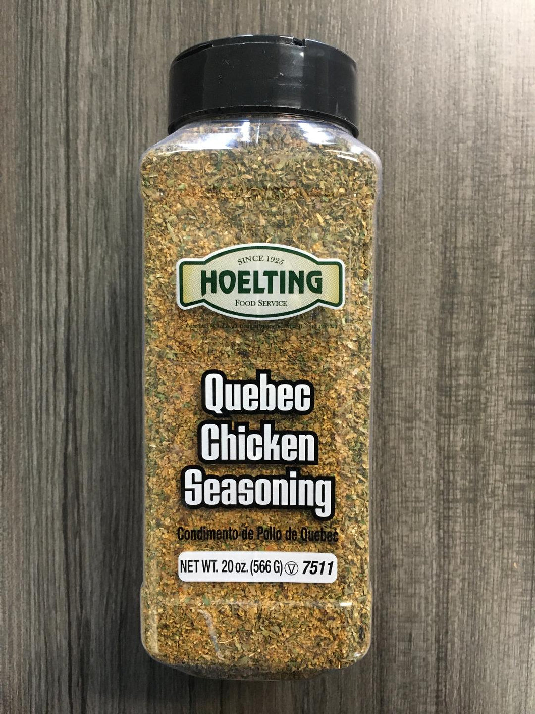 SPICE-QUEBEC CHICKEN SEASONING (20 OZ.)