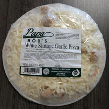 Load image into Gallery viewer, PIZZA-WHITE SAUSAGE GARLIC, 9 INCH (1 CT.)