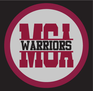 MCA Monogram Warriors Decal