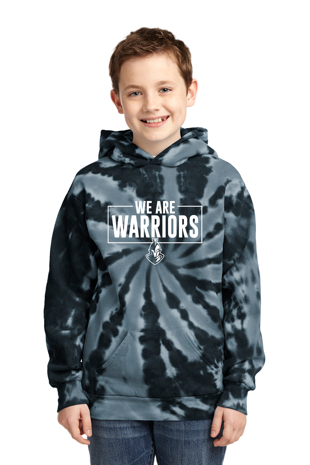 We are Warriors - Tie-Dye Pullover Hooded Sweatshirt (YOUTH)