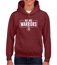 Load image into Gallery viewer, We Are Warriors - HEAVYWEIGHT BLEND HOODED SWEAT - Youth