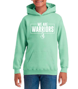 We Are Warriors - HEAVYWEIGHT BLEND HOODED SWEAT - Youth