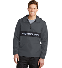 Load image into Gallery viewer, Metrolina Embroidered - Sport-Tek® Zipped Pocket Anorak (ADULT)
