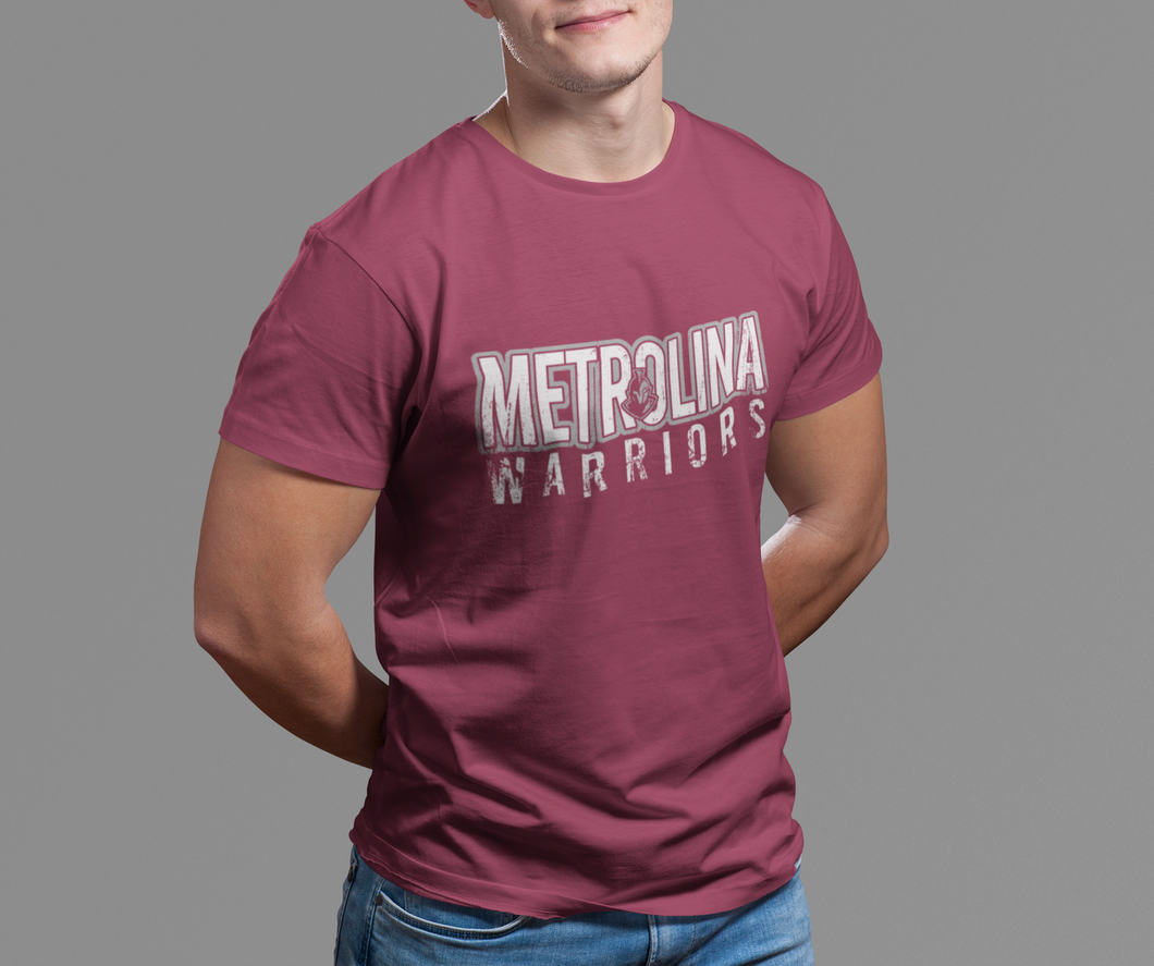 Vintage Metrolina Warriors - LAT Fine Jersey Tee (Adult)