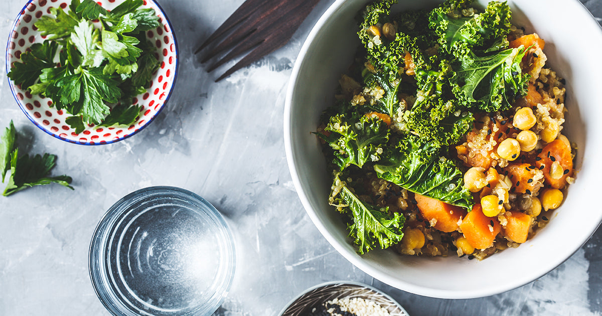sweet potato kale stew