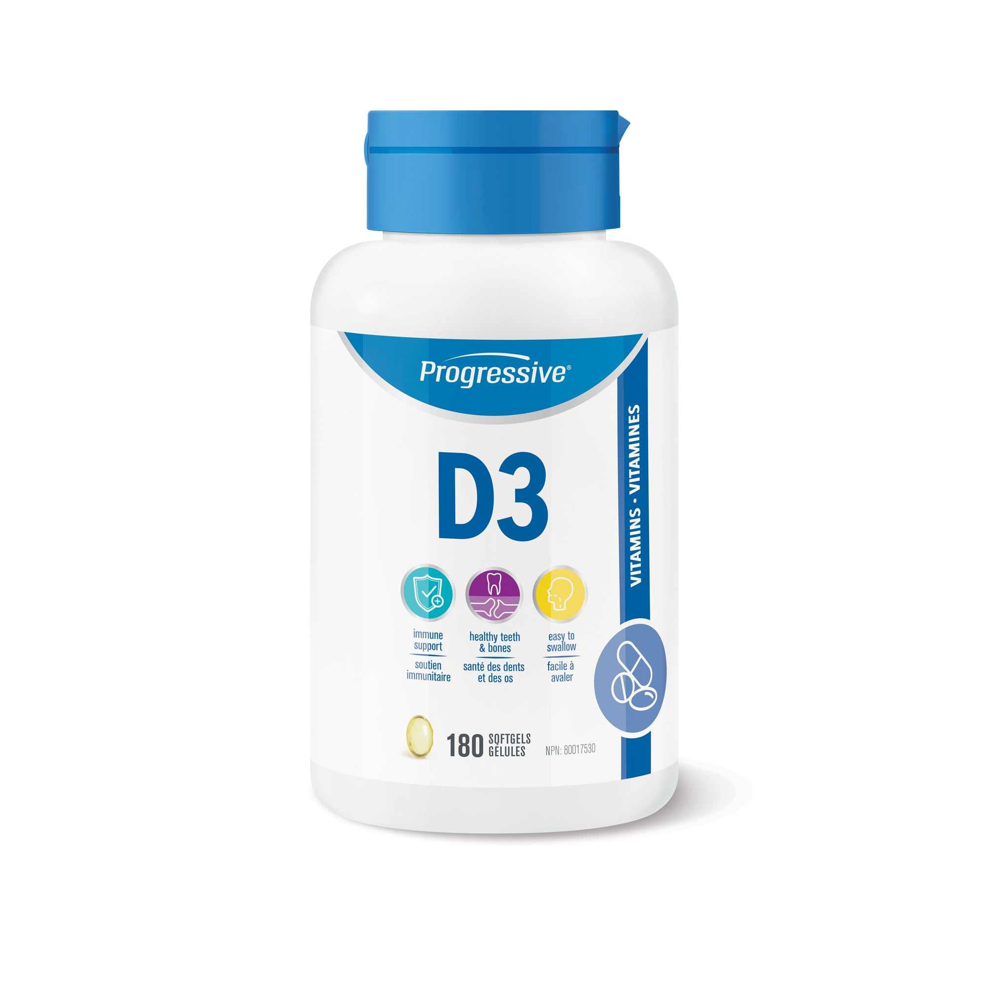 PV3519 Vitamin D3 Bottle