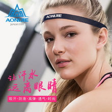 Load image into Gallery viewer, Sports Headband Running Men's and Women's Yoga Non-Slip Silicone Band Sweat-Absorbent Hair Band Sport Headband Anti-Sweat Band