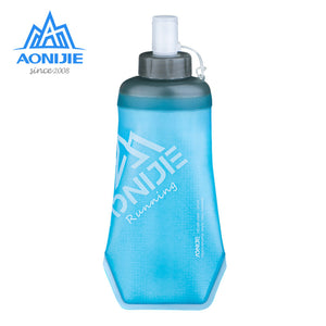New Thermal Insulation Ice Protection Sports Soft Water Bottle Foldable Outdoor Sports Essential Portable Models Cycling Kettle