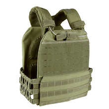 Load image into Gallery viewer, Tactical MOLLE CrossFit Adjustable Weighted Vest Plate Carrier Quick Release