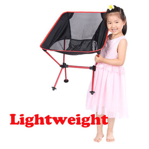 Portable Lightweight Folding Chair Outdoor Travel Fishing Camping Beach Stool