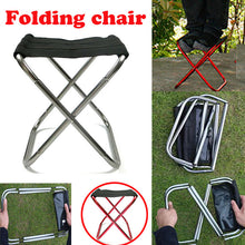 Load image into Gallery viewer, Portable Lightweight Folding Chair Outdoor Travel Fishing Camping Beach Stool